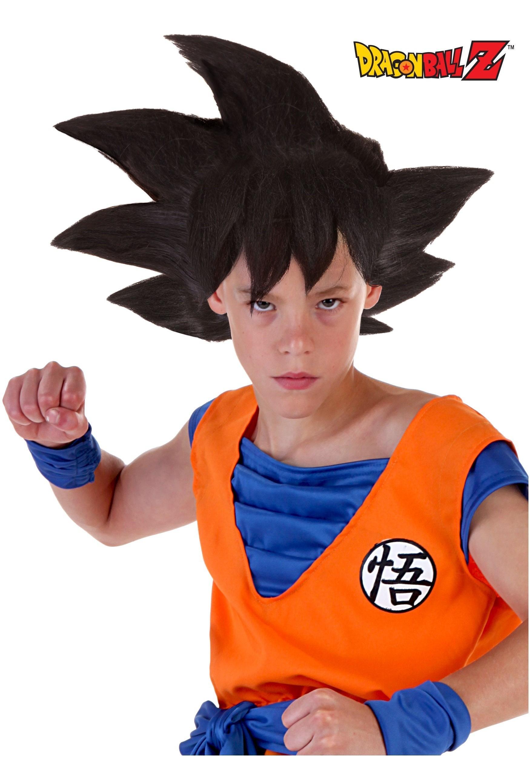 sc 1 st  Halloween Costumes & Child Goku Wig