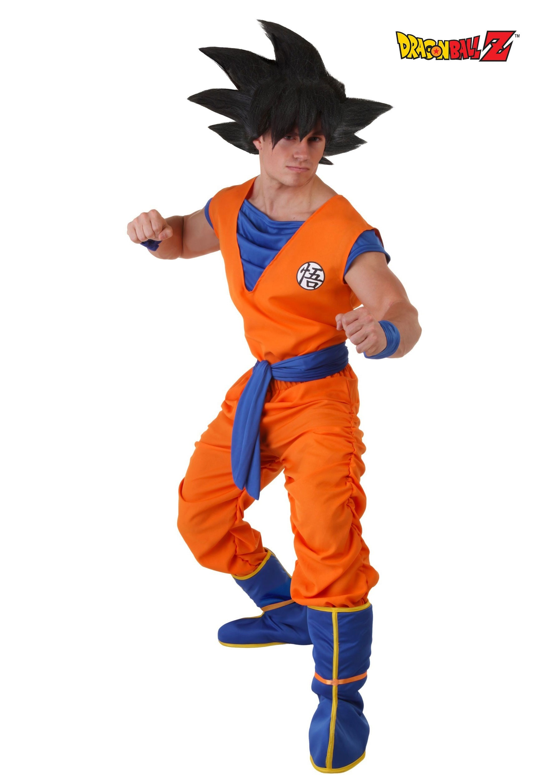 4c6a4533104 Dragon Ball Z Goku Costume for Men