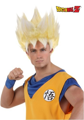 Adult Super Saiyan Goku Wig By: Fun Costumes for the 2015 Costume season.