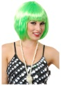 Short-Bob-Lime-Green-Wig