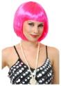 Short-Bob-Hot-Pink-Wig