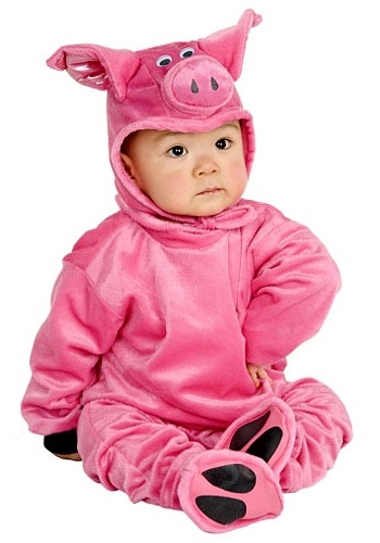 Little Pig Costume By: Charades for the 2015 Costume season.