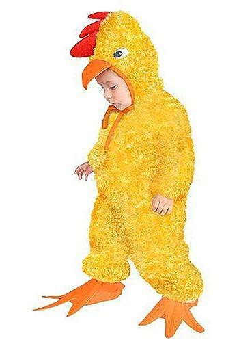 Toddler Chicken Costume Update