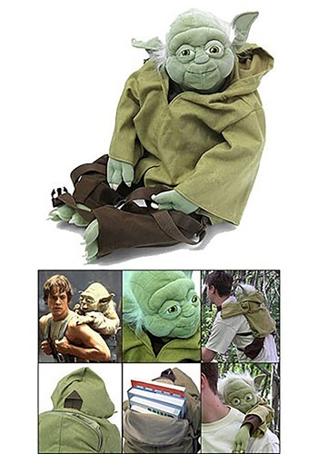 Yoda Plush Backpack By: Comic Images for the 2015 Costume season.