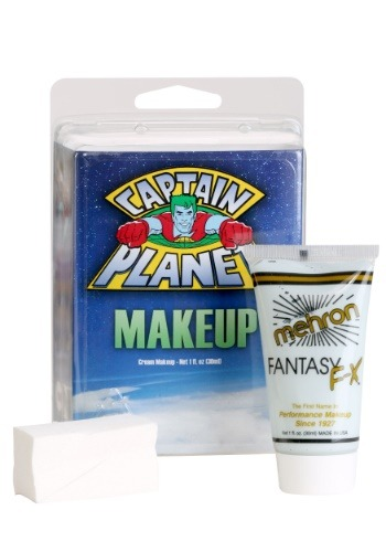 Click Here to buy Captain Planet Blue Makeup from HalloweenCostumes, USA Funds & Shipping