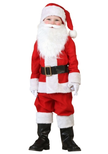 Click Here to buy Toddler Santa Costume from HalloweenCostumes, USA Funds & Shipping