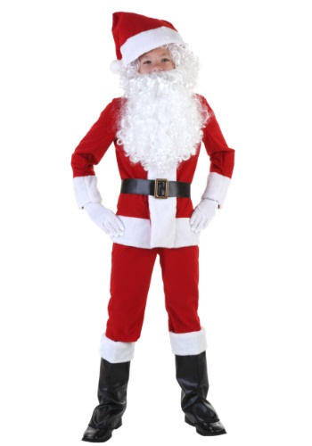Click Here to buy Kids Santa Costume from HalloweenCostumes, USA Funds & Shipping