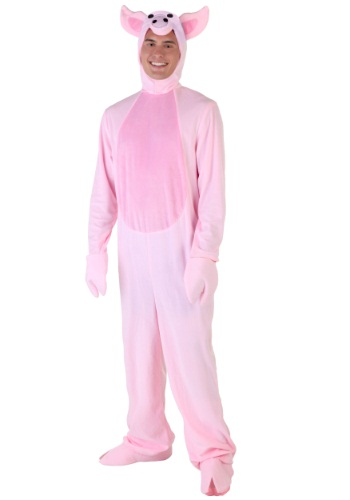 Click Here to buy Adult Pig Costume from HalloweenCostumes, USA Funds & Shipping