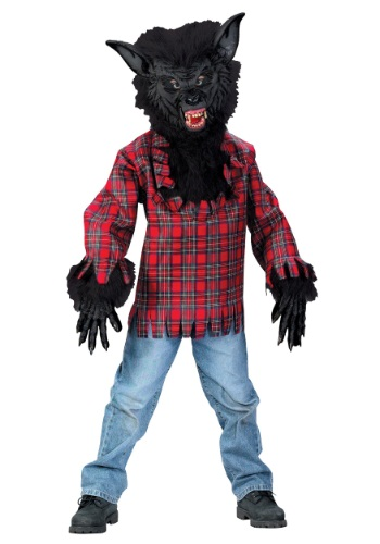 Child Black Werewolf Costume By: Fun World for the 2015 Costume season.
