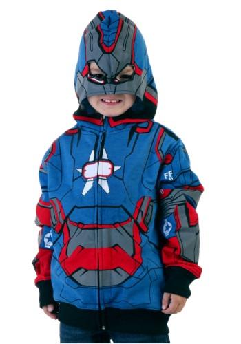 Juvy Iron Patriot Costume Hoodie