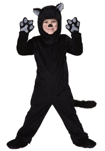 Little Black Cat Costume