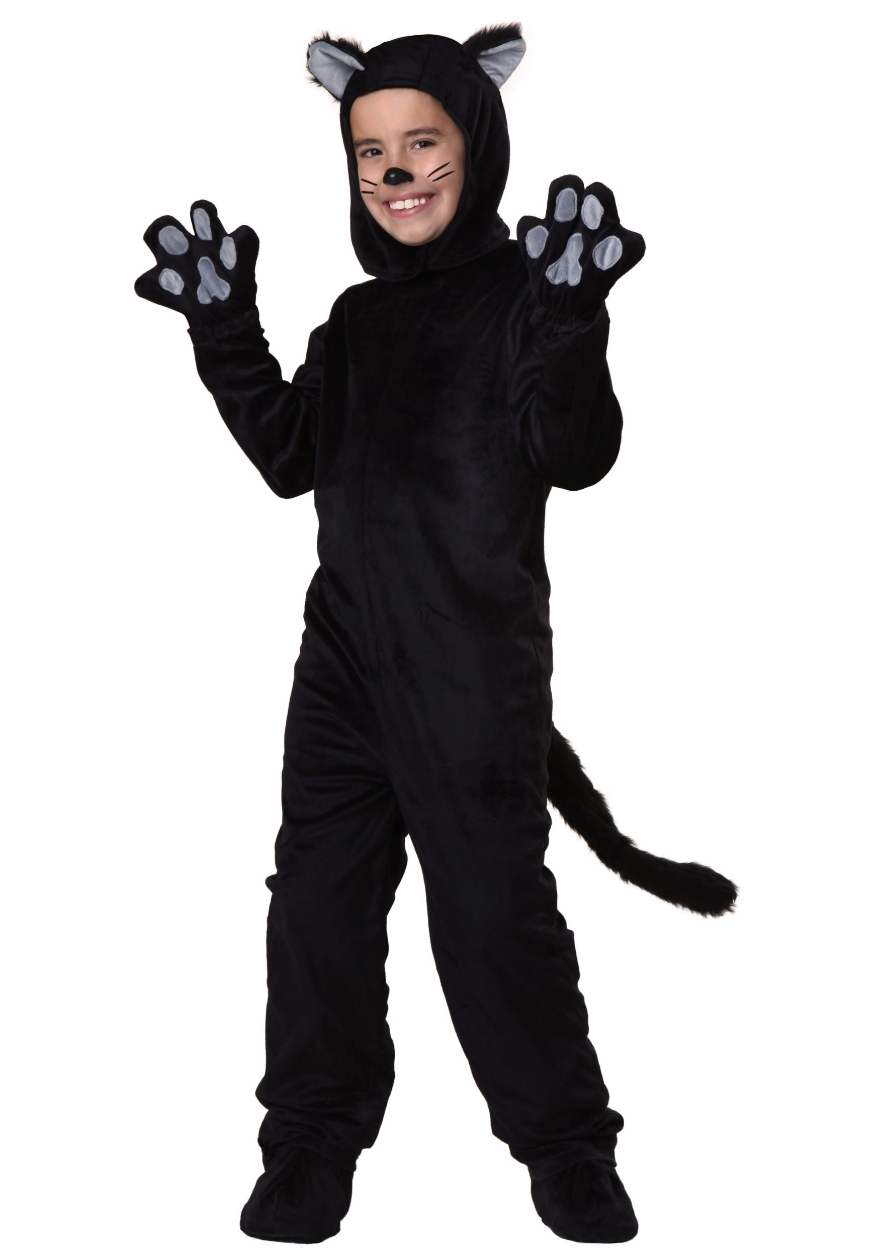 sc 1 st  Halloween Costumes & Child Black Cat Costume