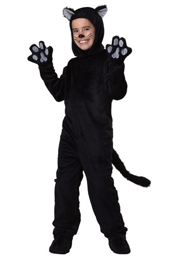 Image  Child Black Cat Costume