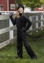 Child Black Cat Costume Alt 1