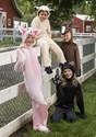 Child Black Cat Costume Alt 2