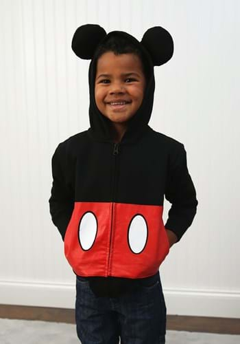 Toddler Mickey Mouse Costume Hoodie Update