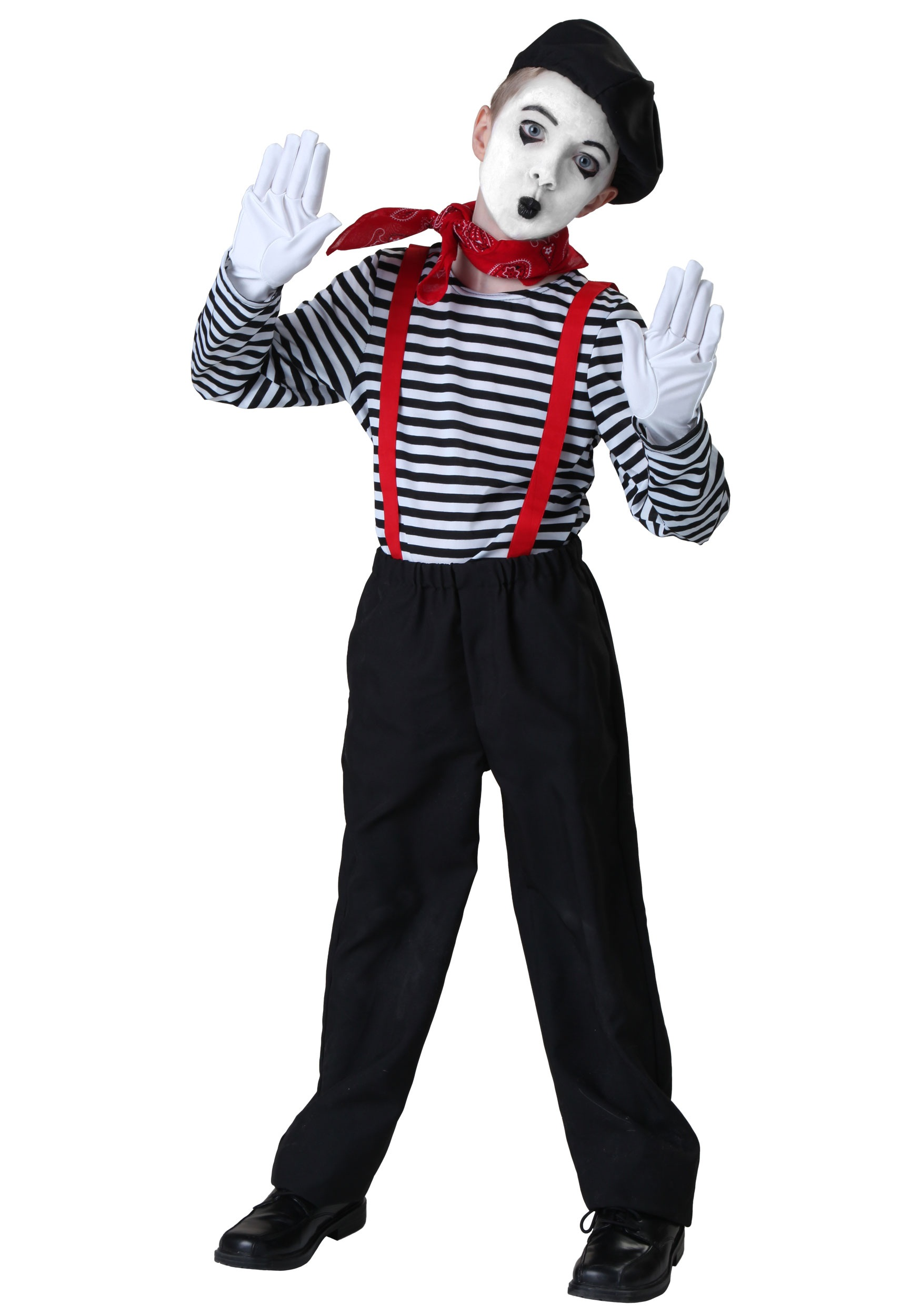 child mime costume - Mime For Halloween