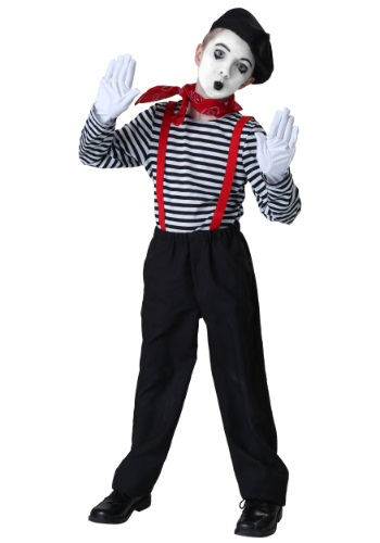 Click Here to buy Kids Mime Costume from HalloweenCostumes, CDN Funds