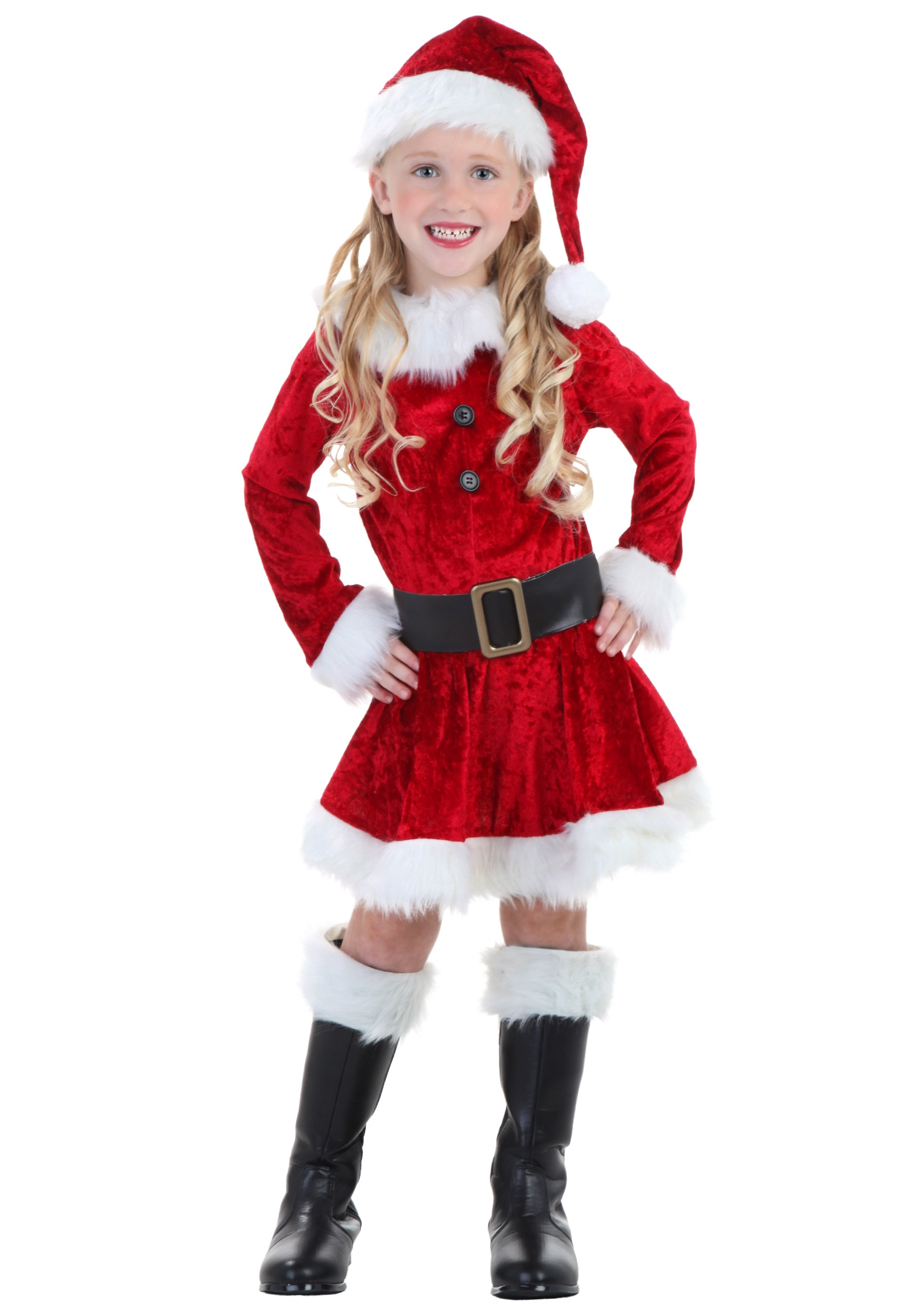 Toddler Mrs Claus Costume