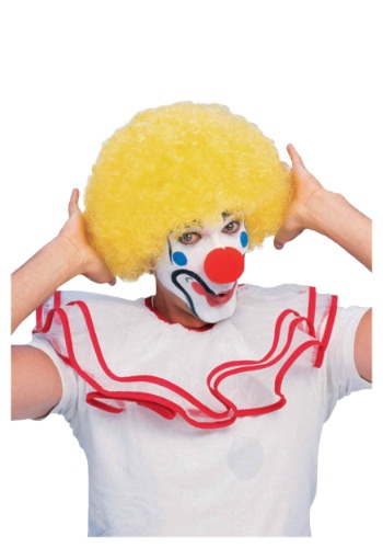 Yello (Yellow Afro Clown Wig)