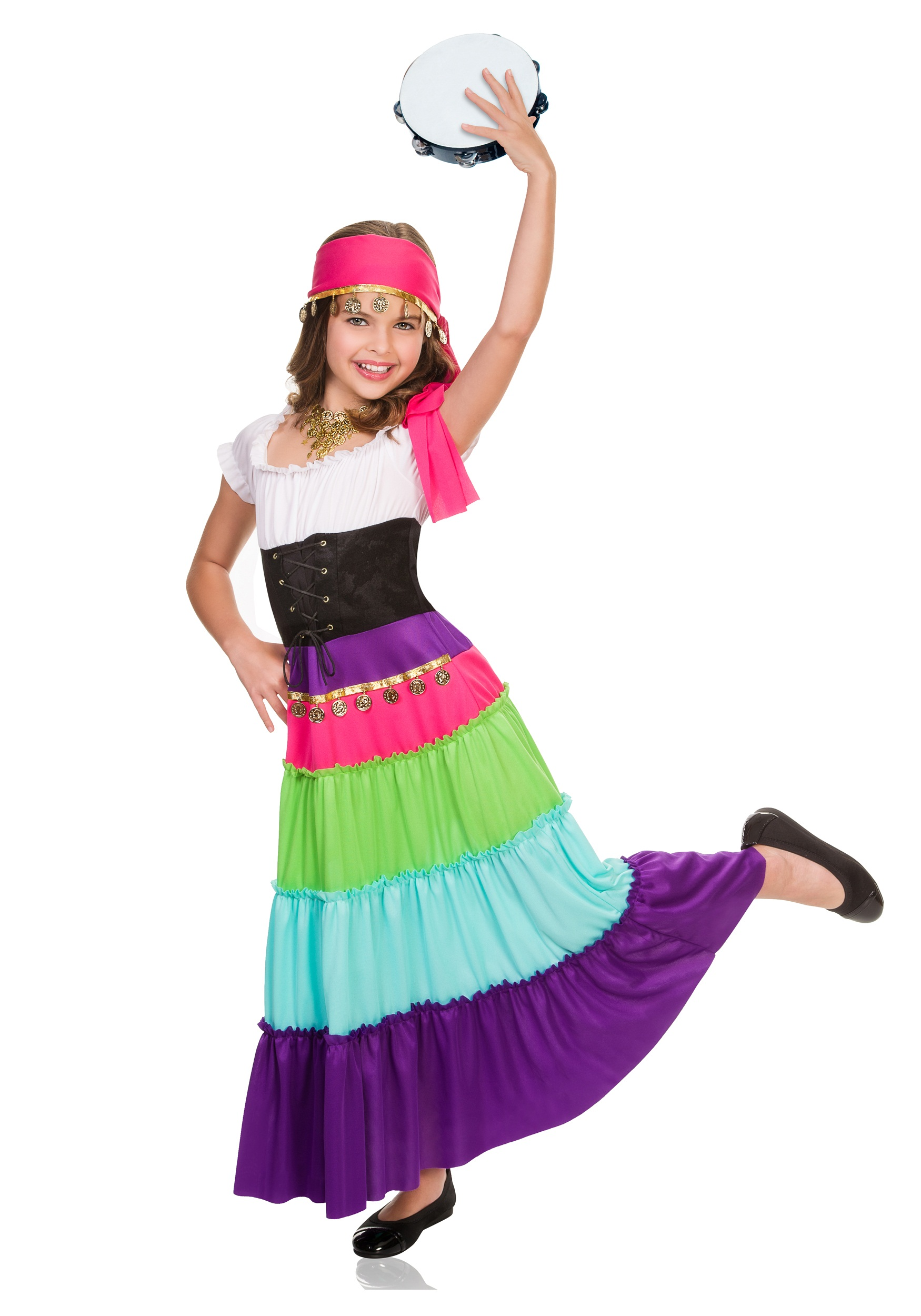 sc 1 st  Halloween Costumes & Child Renaissance Gypsy Costume