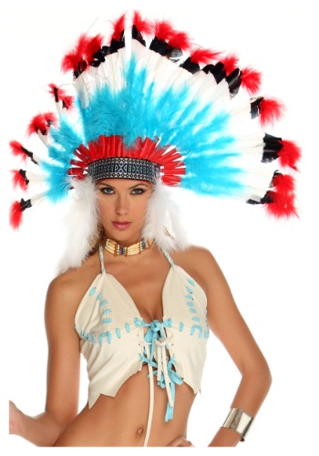 Native American Headdress By: Forplay for the 2015 Costume season.