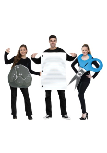 Rock, Paper, Scissors Adult Costume By: Fun World for the 2015 Costume season.
