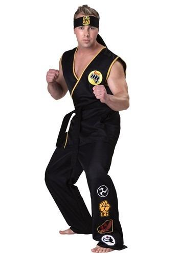 Click Here to buy Karate Kid Cobra Kai Mens Costume from HalloweenCostumes, CDN Funds