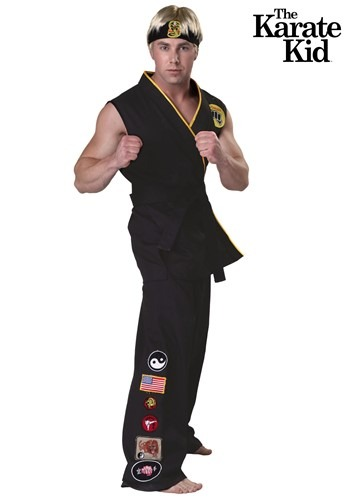 Authentic Karate Kid Cobra Kai Costume By: Fun Costumes for the 2015 Costume season.