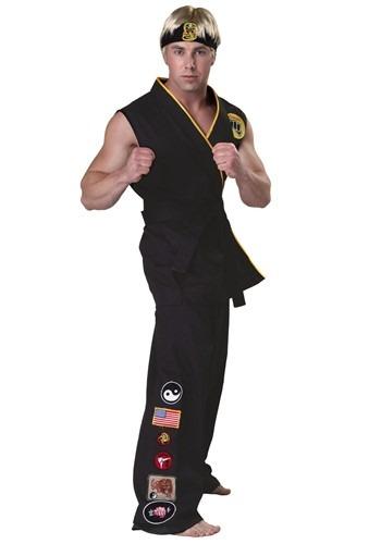 Authentic Karate Kid Cobra Kai Adult Costume KAR2231AD