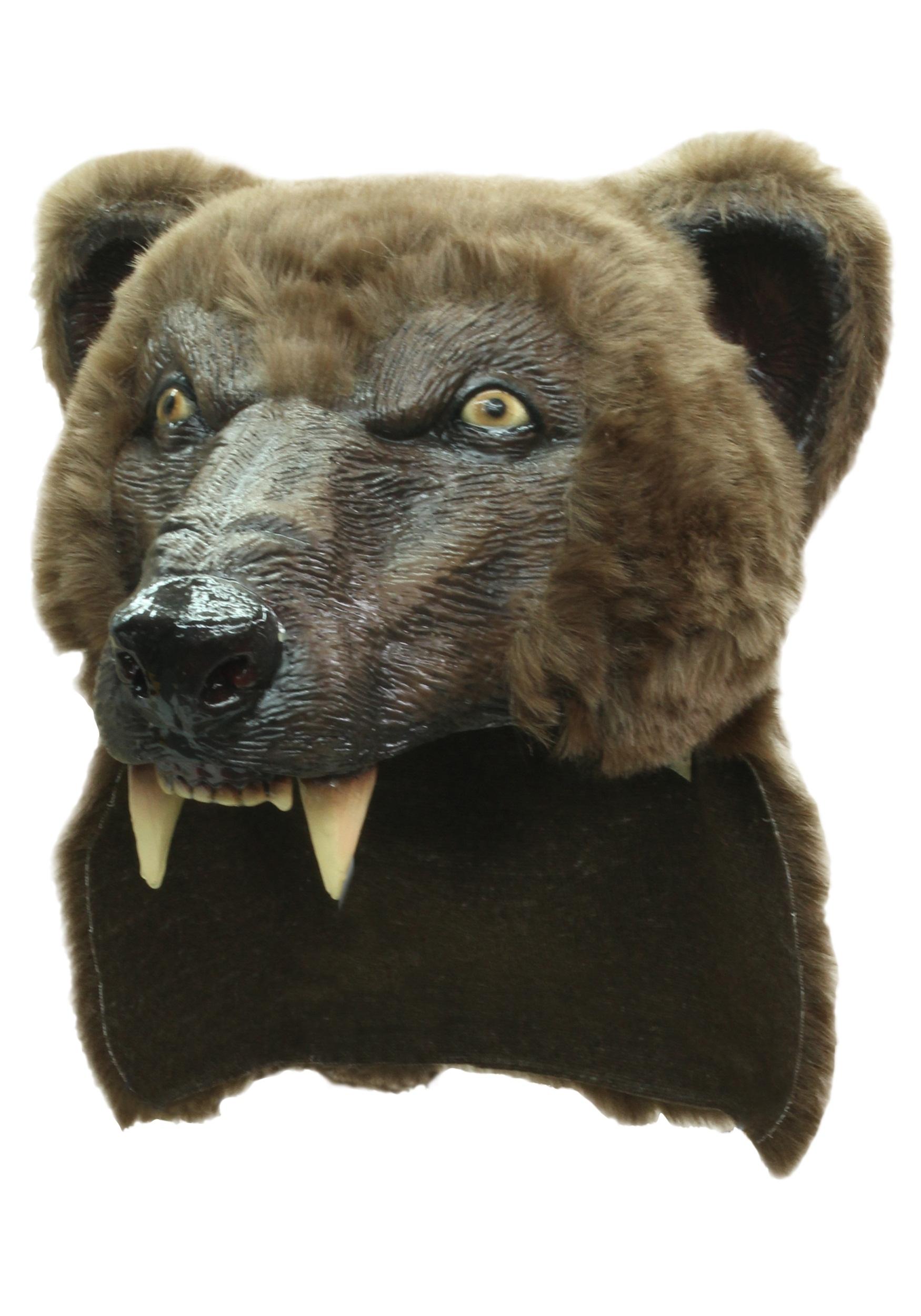 how to make a bear head costume