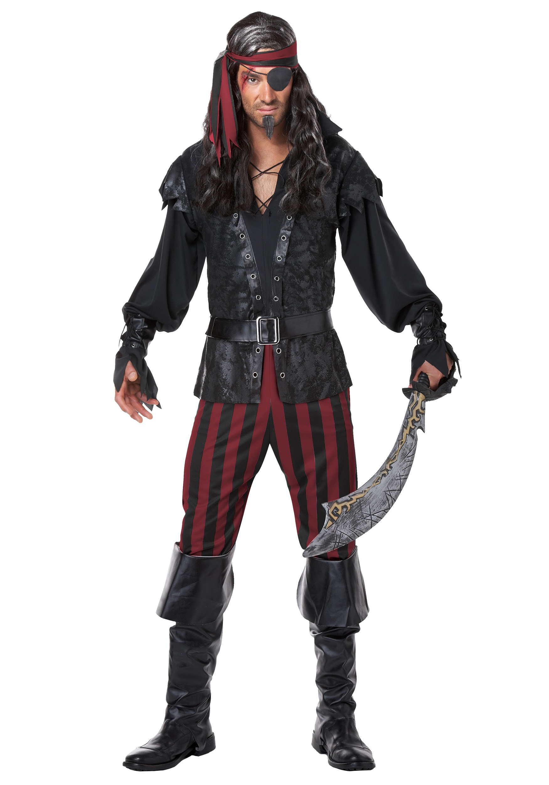 Rogue Pirate Halloween Costume Ruthless Rogue Pirate Costume