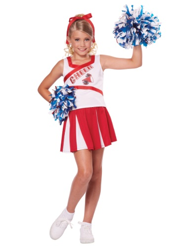 Click Here to buy Kids High School Cheerleader Costume from HalloweenCostumes, USA Funds & Shipping