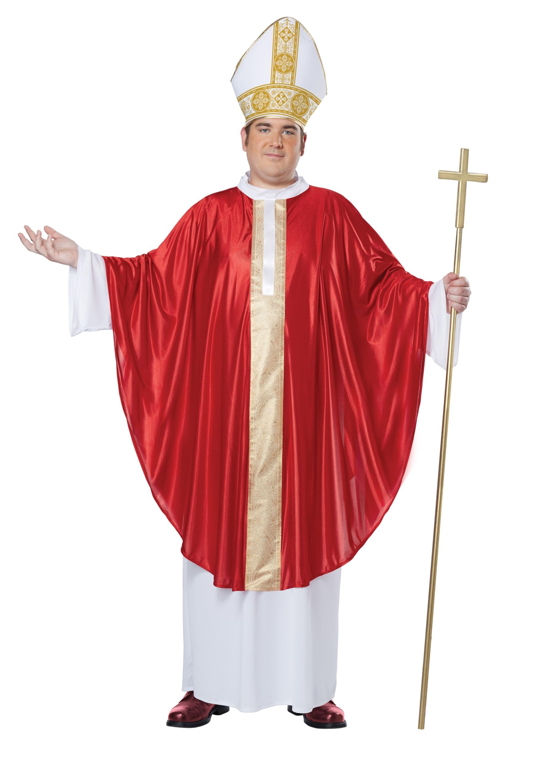 Plus Size Pope Costume ec158c7e6