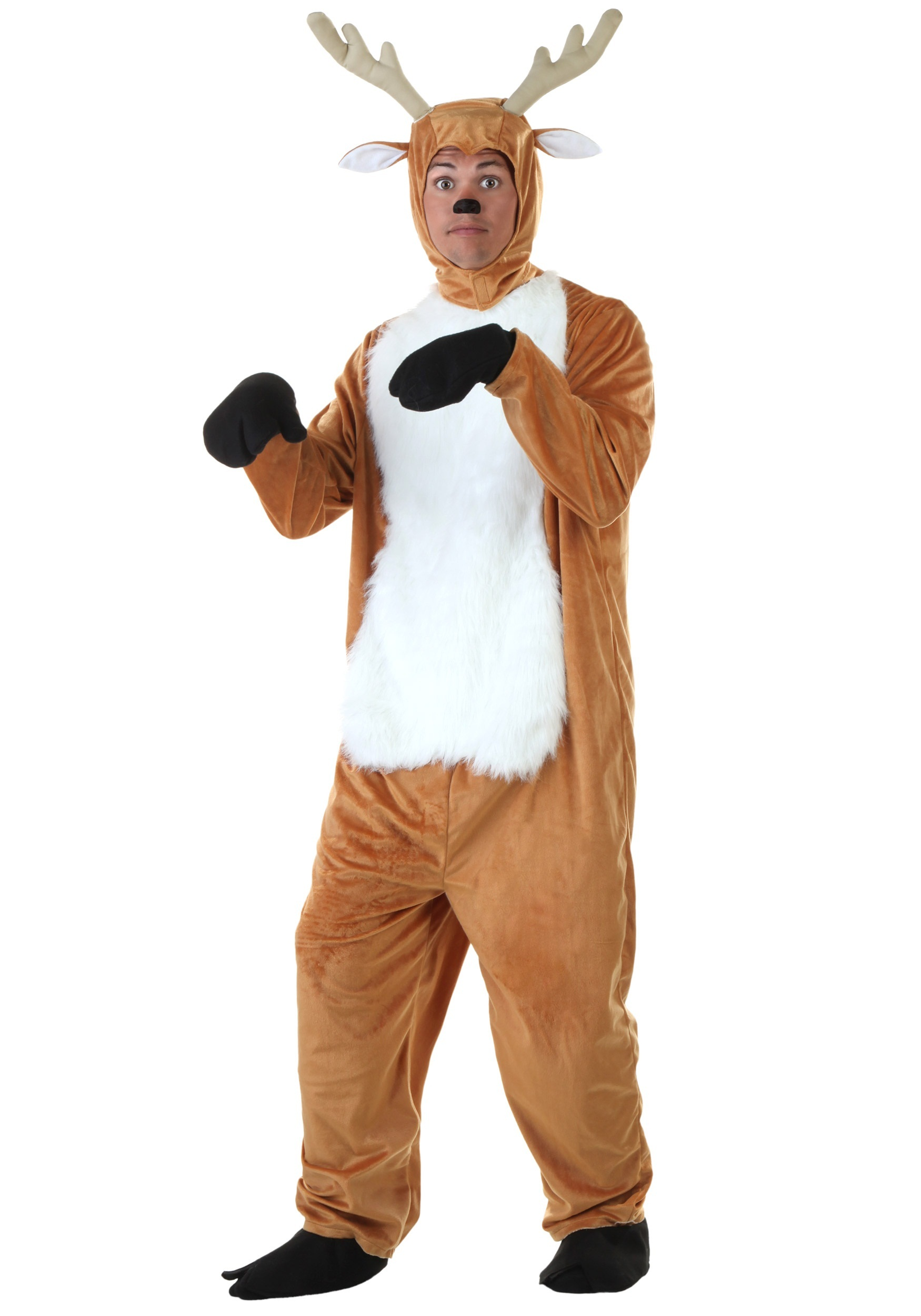 Plus Size Deer Costume