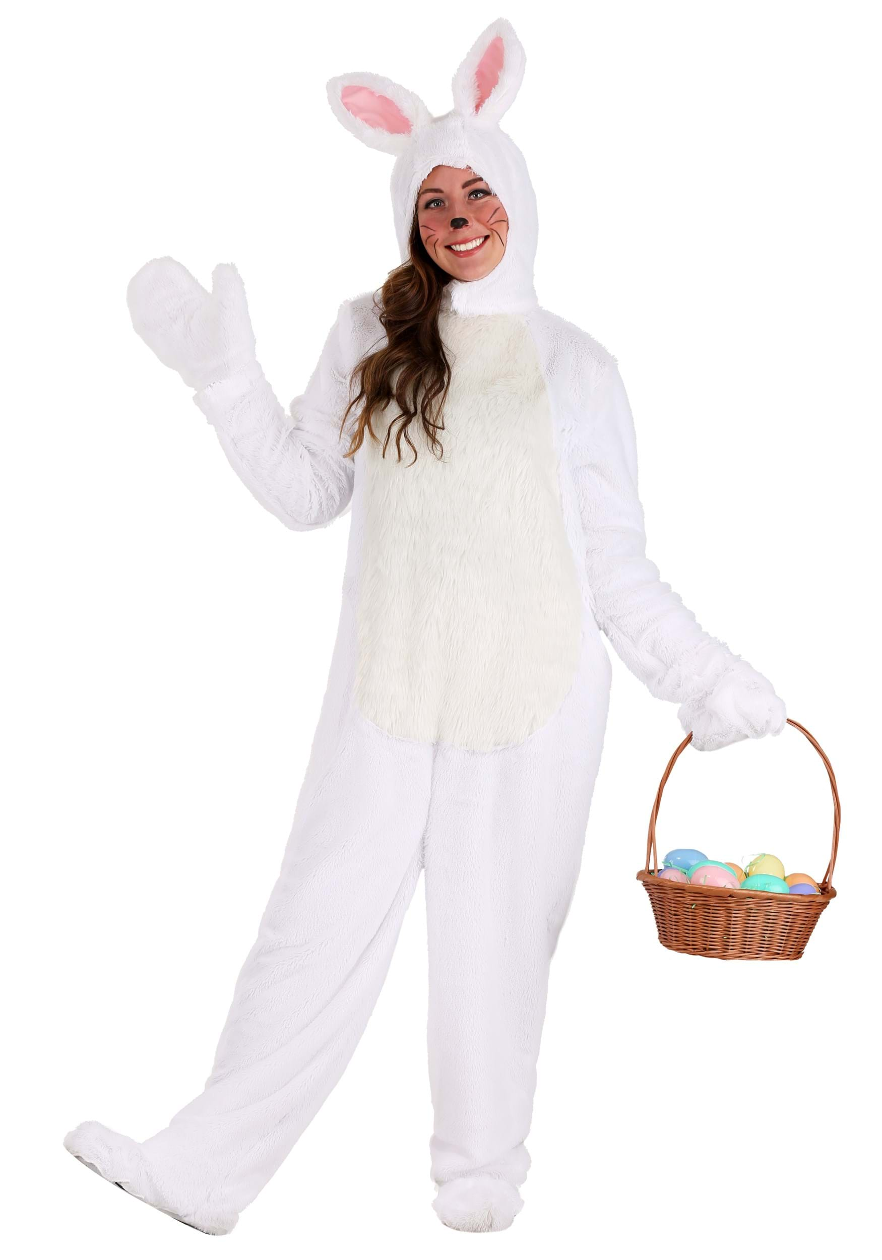 sc 1 st  Halloween Costumes & Adult White Bunny Costume