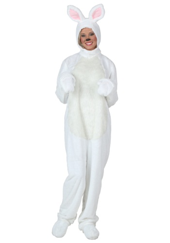 Plus Size White Bunny Costume