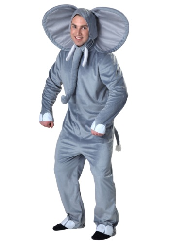 Click Here to buy Adult Happy Elephant Costume from HalloweenCostumes, USA Funds & Shipping