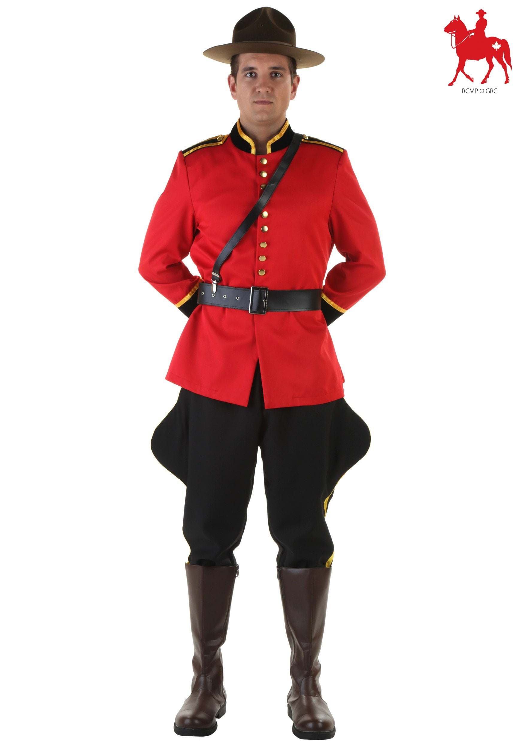 Plus Canadian Mountie Costume