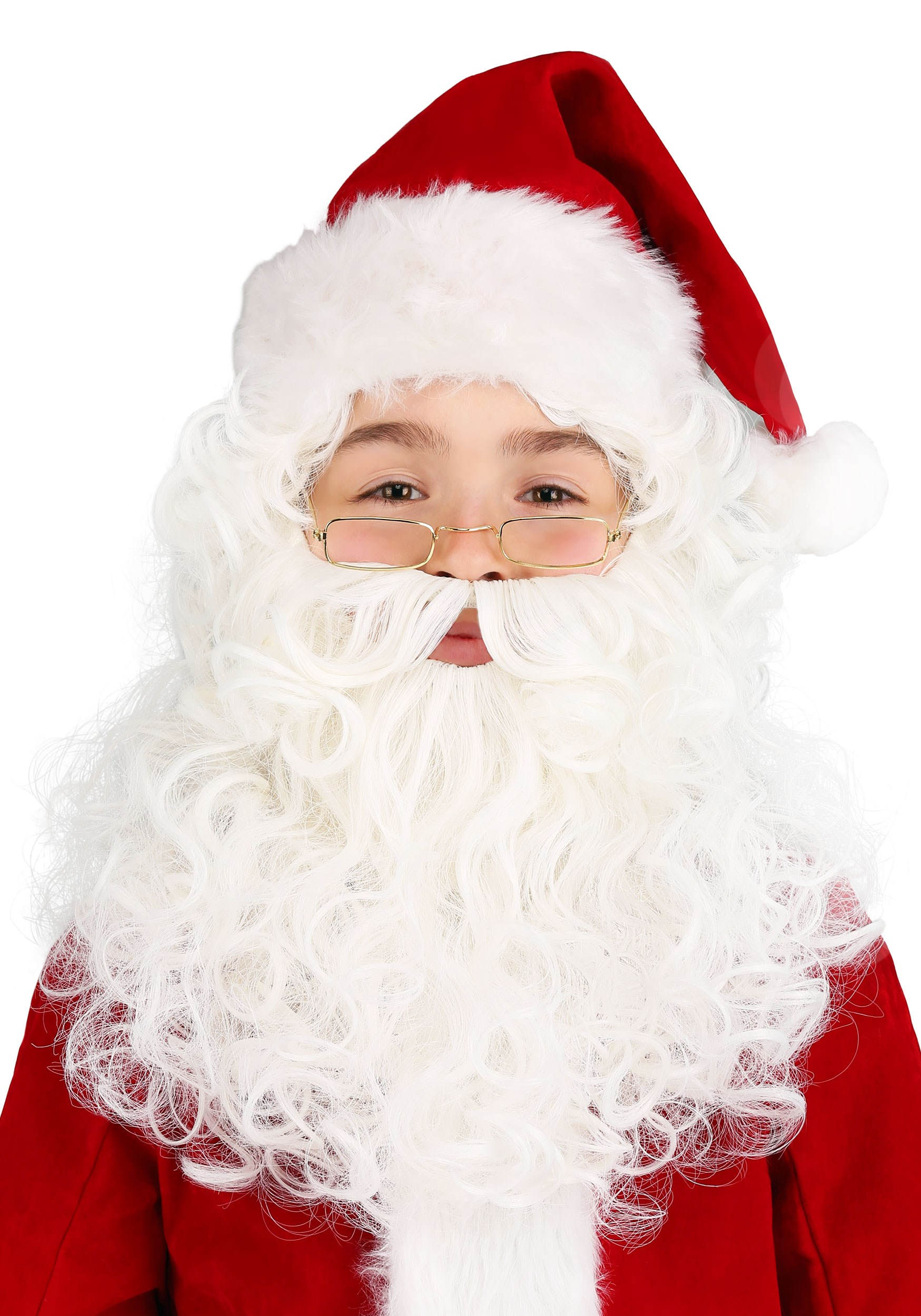 sc 1 st  Halloween Costumes & Child Santa Wig and Beard