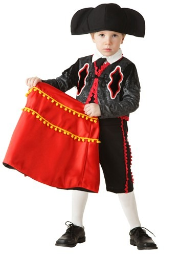Toddler Matador Costume By: Bayi Co. for the 2015 Costume season.
