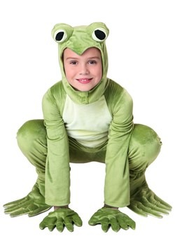 Kid's Deluxe Frog Costume 1