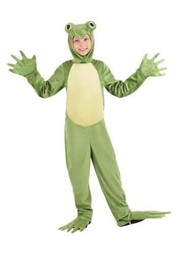 Kids Deluxe Frog Costume
