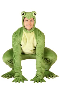Adult Deluxe Frog Costume
