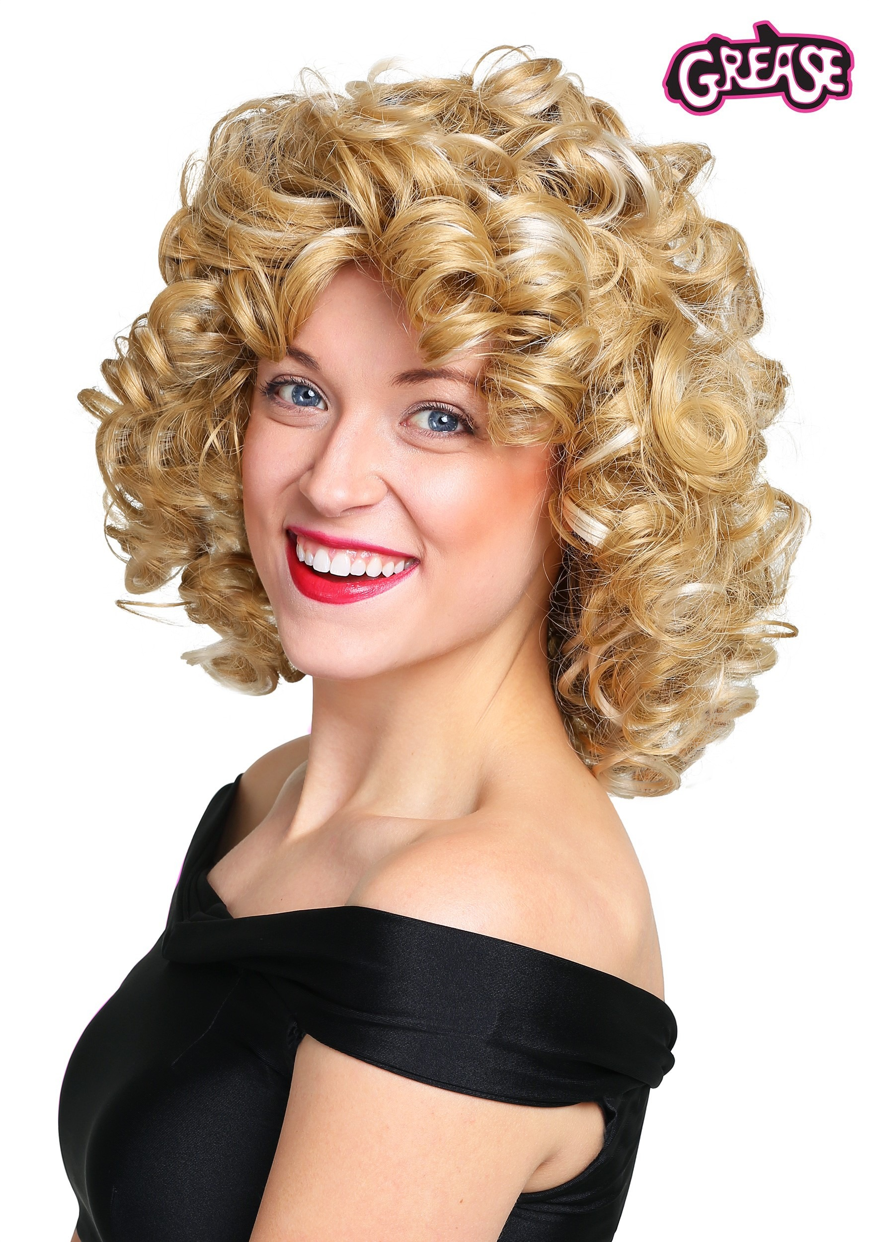 Women S Grease Bad Sandy Wig
