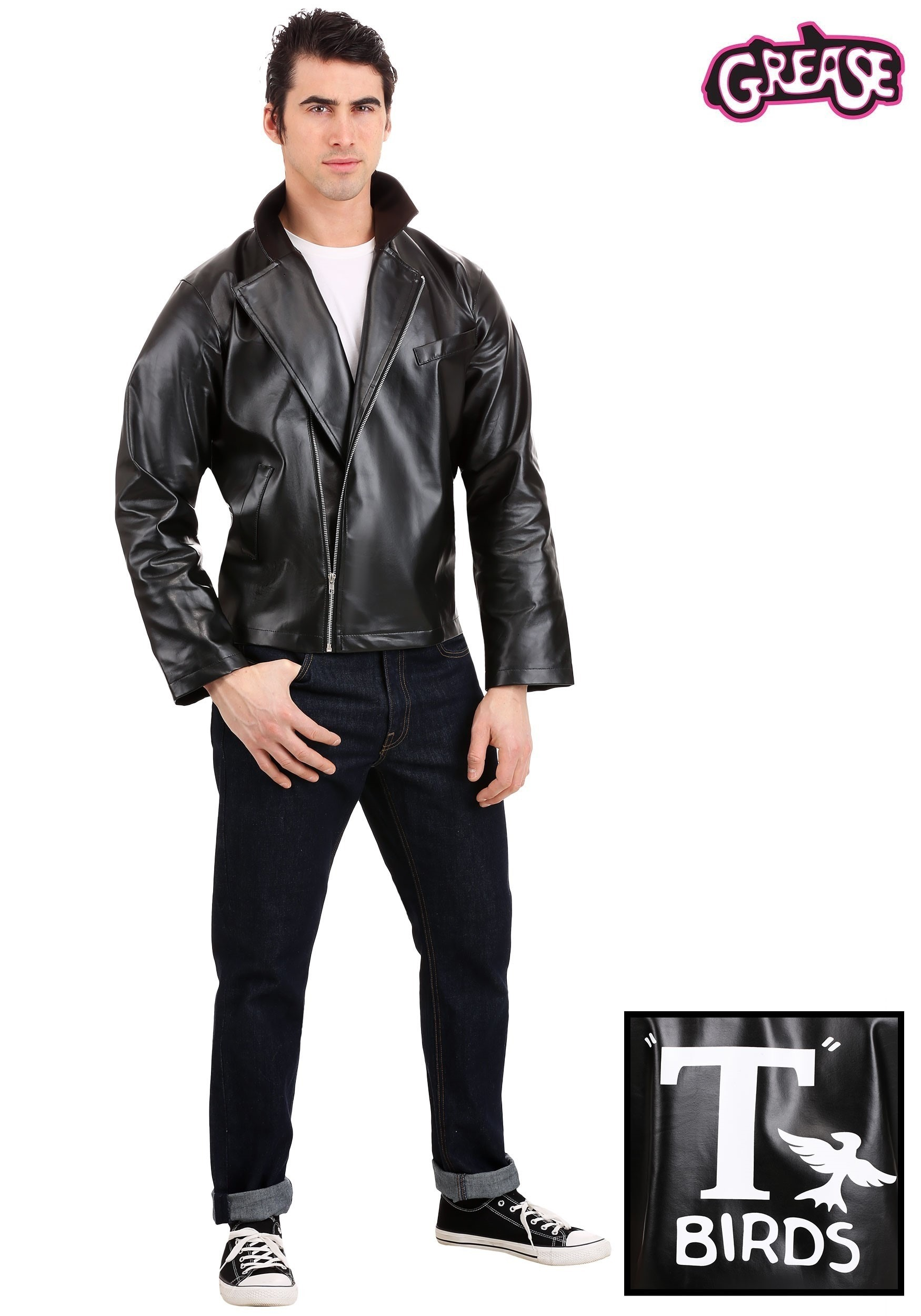 Grease T Birds Jacket Costume For Men