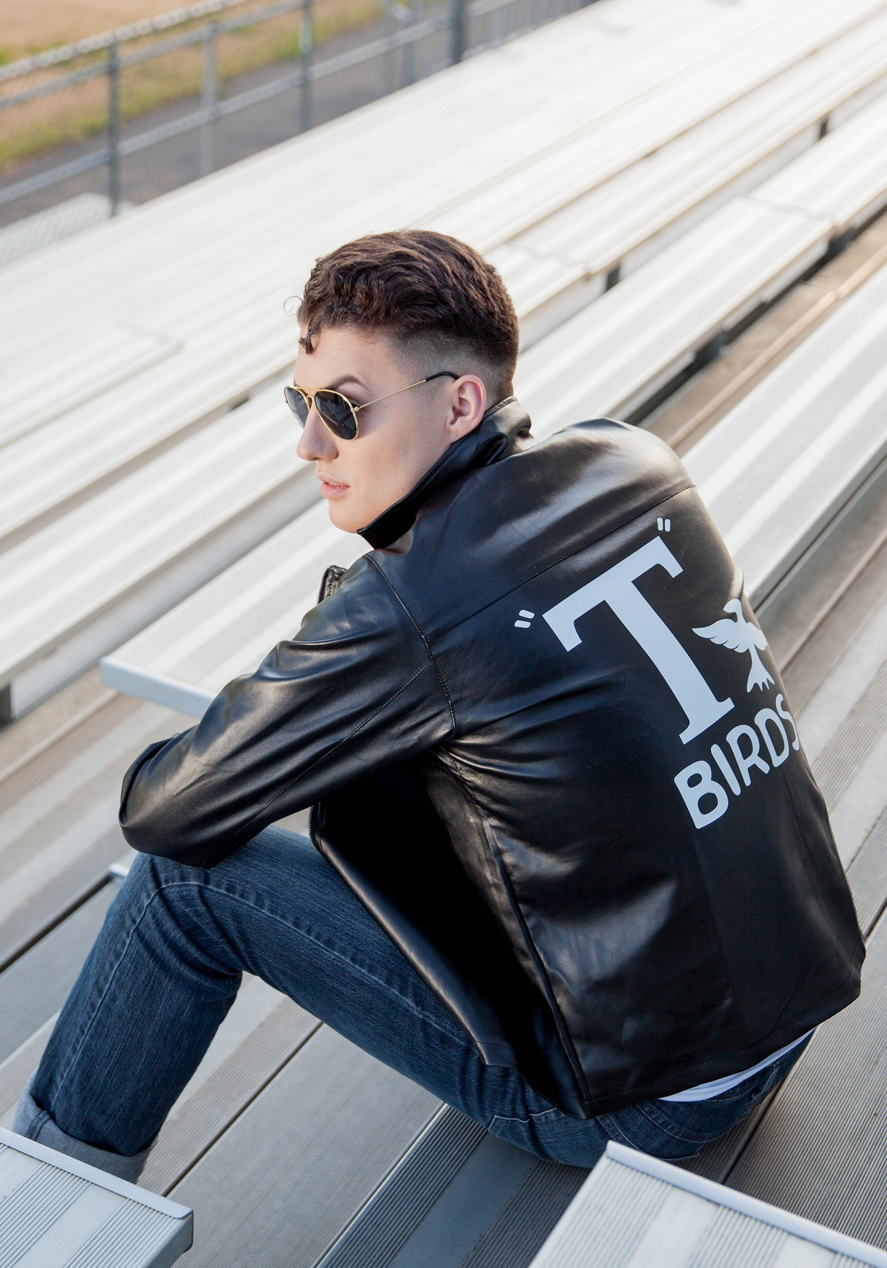 b29bf80b2 Adult Grease T-Birds Jacket Costume