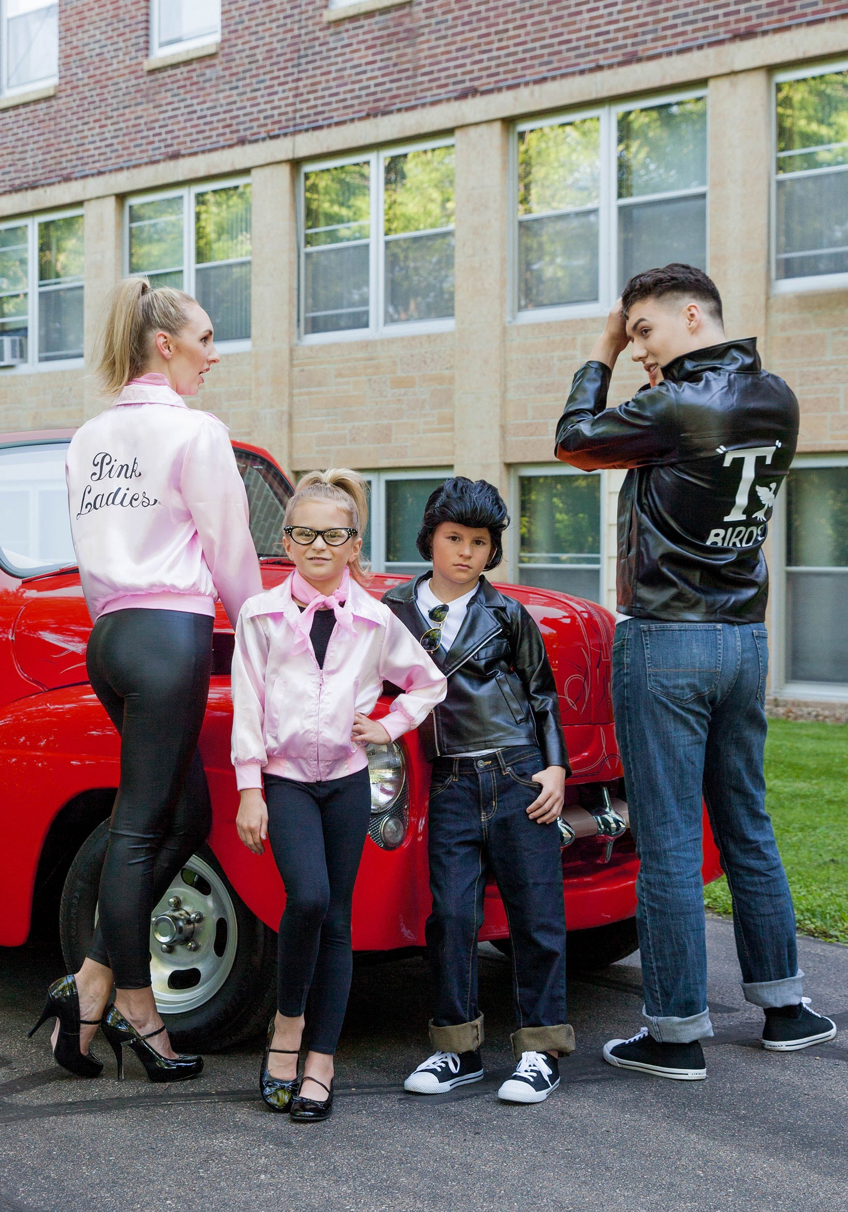 adult grease tbirds jacket