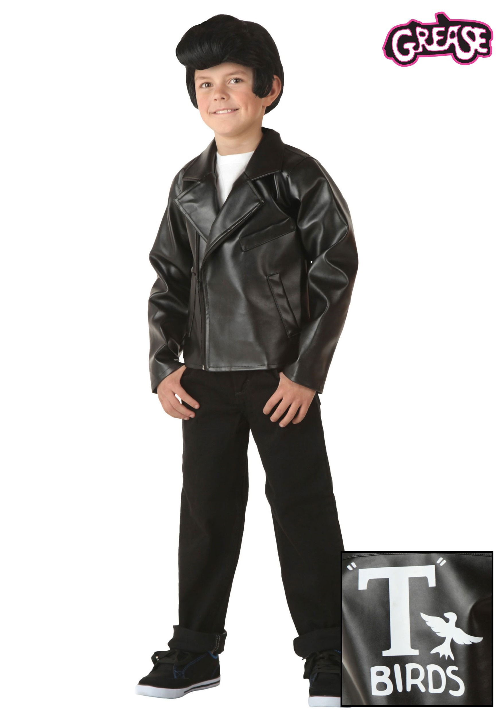 kids grease t birds jacket - Greece Halloween Costumes