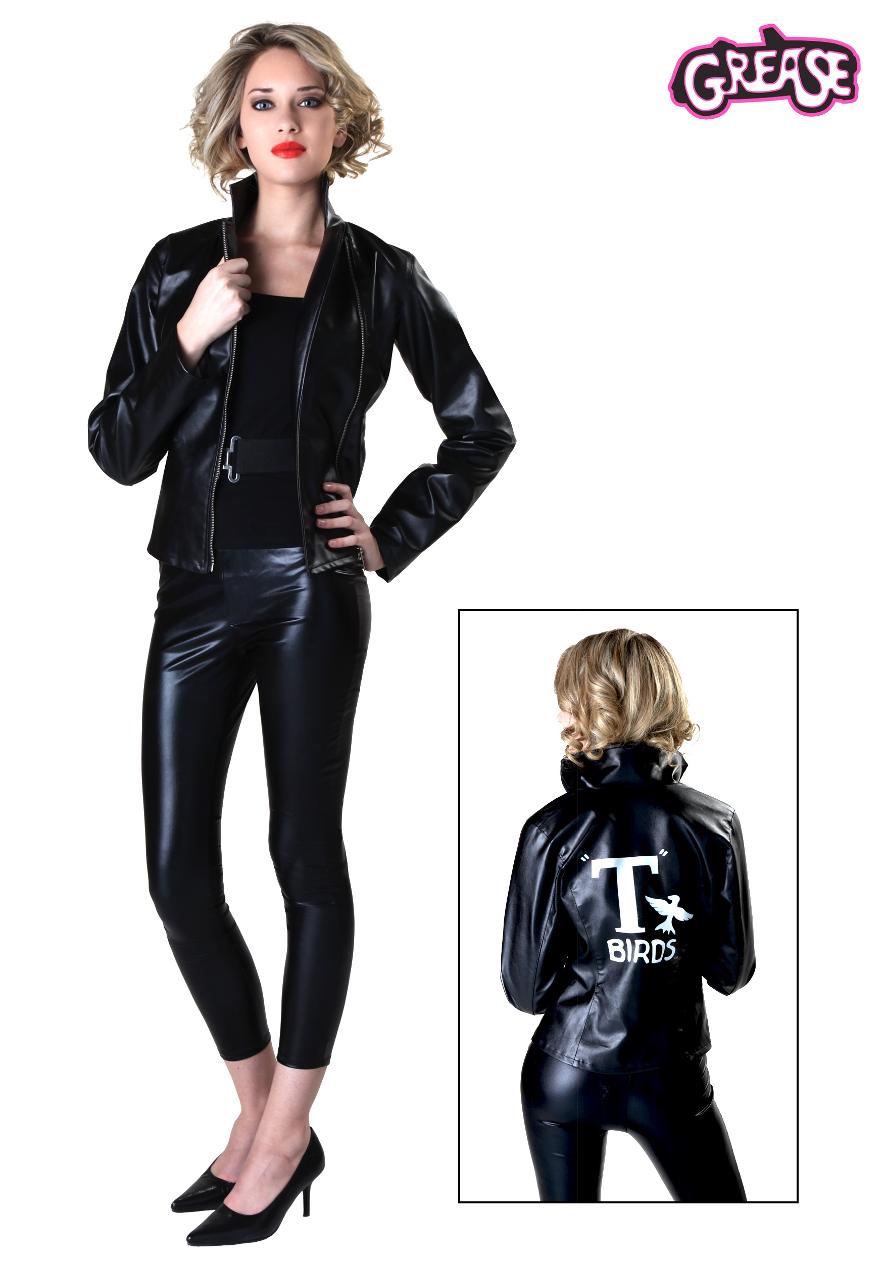 womens grease t birds jacket